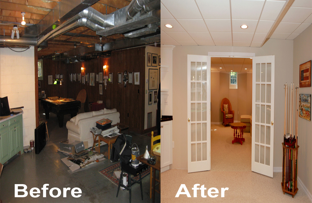 Image of: New Basement Is Waiting J F Remodeling